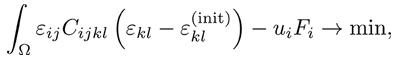 equation: linear elasticity